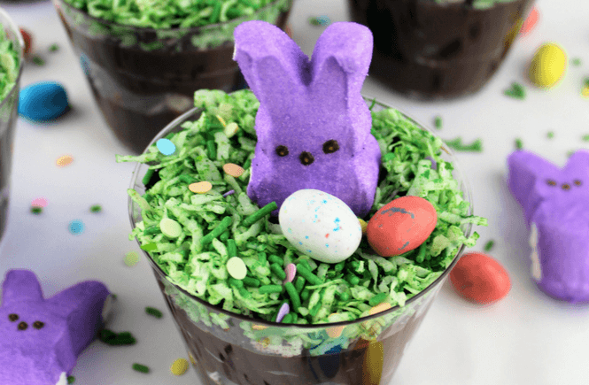 how to make easter bunny cups