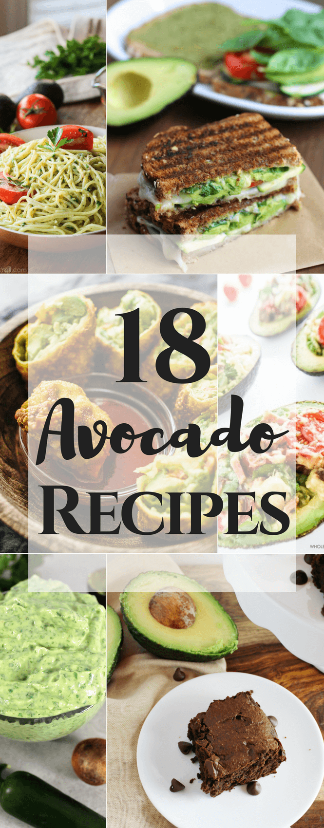 18 Avocado Recipes
