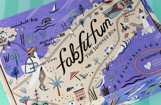 FabFitFun Subscription Box Summer 2017