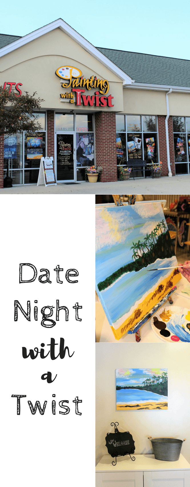#PaintingwithaTwist, #PWATinteriors , #ad, date night , date night ideas, diy