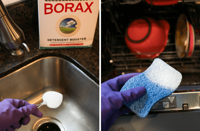 #BoostWithBorax #collectivebias #ad 10 Ways to Clean Your Kitchen with Borax, cleaning all natural