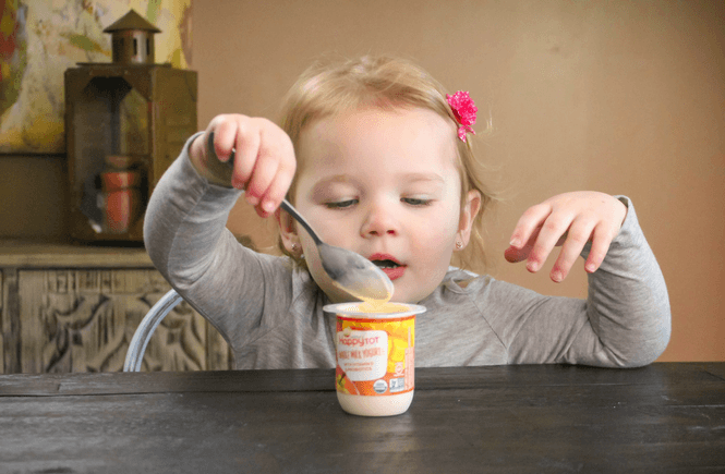 #ad, 6 Tips to Make Your Morning Less Chaotic Featuring Happy Tot Whole Milk Yogurt, Baby yogurt,No added sweeteners, probotics Organic , #TargetBaby #happyfamilytarget