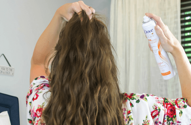 #ad, @Dove #DoveRealBeauty #Walmart, Overnight No Heat Beach Waves, easy summer hairstyle