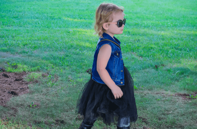 combat boots and tutus, black tut, kid style, kid fashion, punk rock style kids, combat boots kids