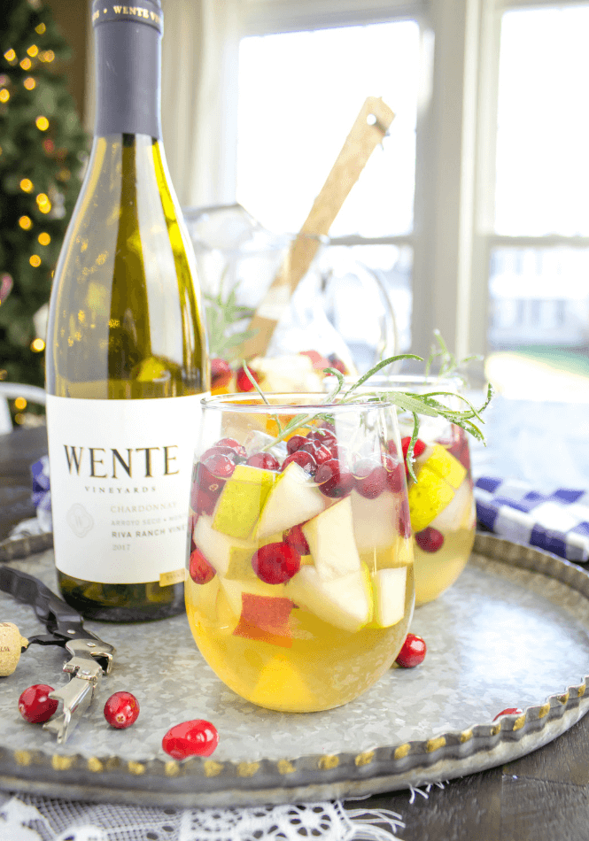 Msg 4 21+ #MakeTime Holiday Sangria Holiday Sangria Gift Basket & Holiday Sangria | Leggings u0027Nu0027 Lattes