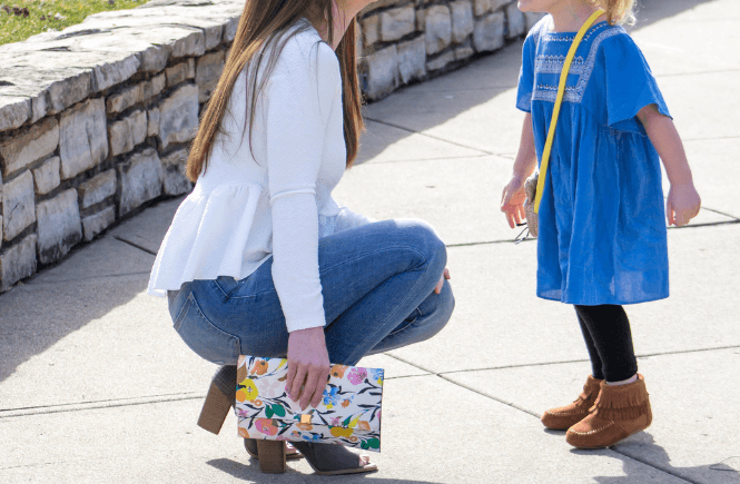 White Smock Top, Peplum top, Mommy and me style | #momstyle | Kids fashion | Affordable fashion finds | Amazon fashion
