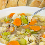 Chicken and Rice Soup, wild rice soup, chicken soup, soup recipe, recipe to make when you are sick, fall recipe, winter soup, stove top soup