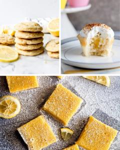 12 Irresistible Lemon Dessert Recipes, lemon dessert, lemon recipes, ways to use lemons, lemon pie, lemon cake, lemon bars, lemon cookies, lemon cookie dough, lemon bundt cake, lemon cupcakes, #lemon #dessert
